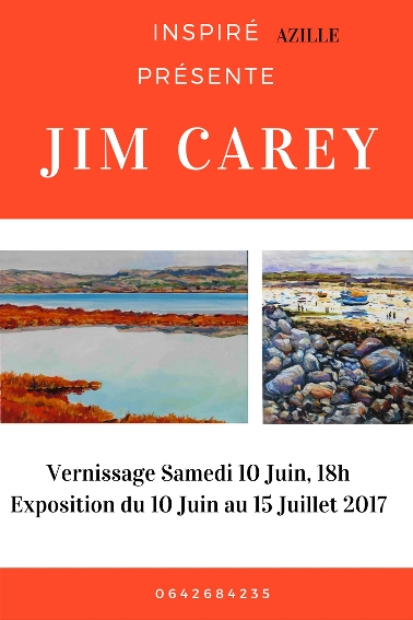 Jim CareyVernissage 10 Juin 18hExpo du 10 Juin au 15 Juillet 2017 1