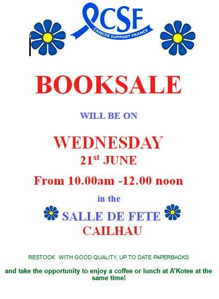 csf june 17 booksale